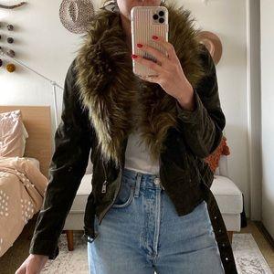 Dolls Kill Fur Vest Jacket